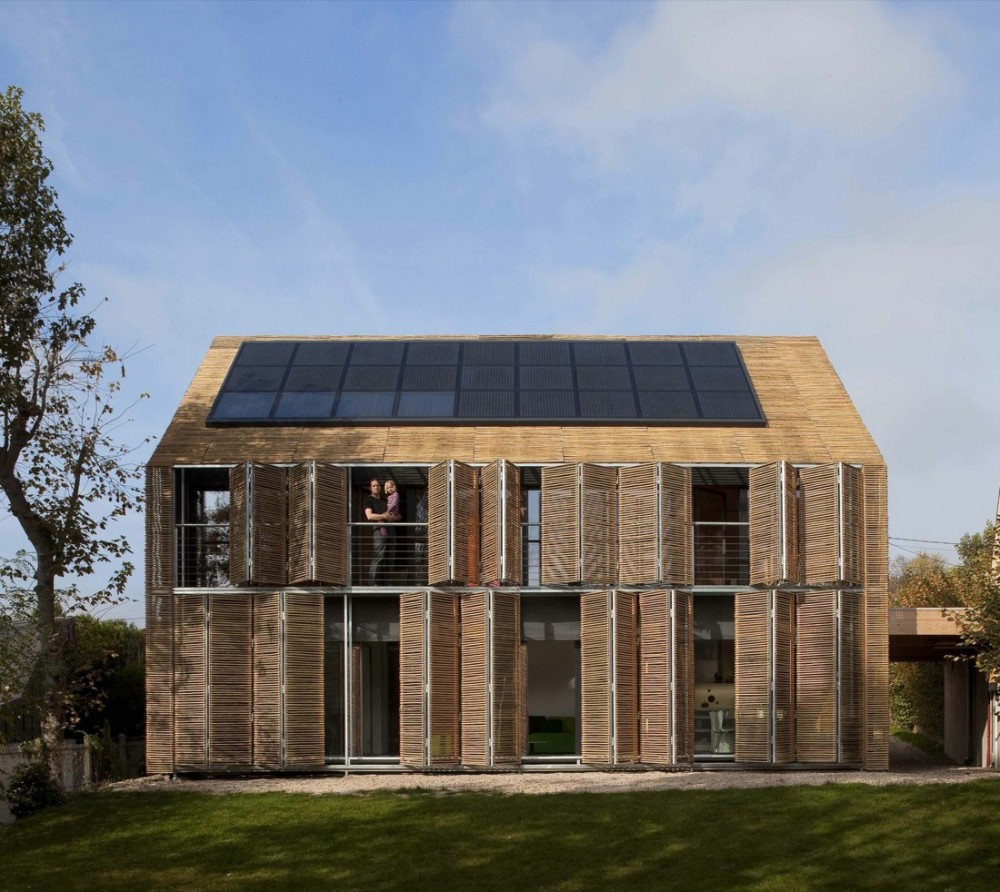 Beautiful Houses Solar Passive House Design France