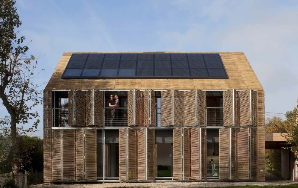 Solar passive house design france most beautiful houses for World no 1 beautiful house