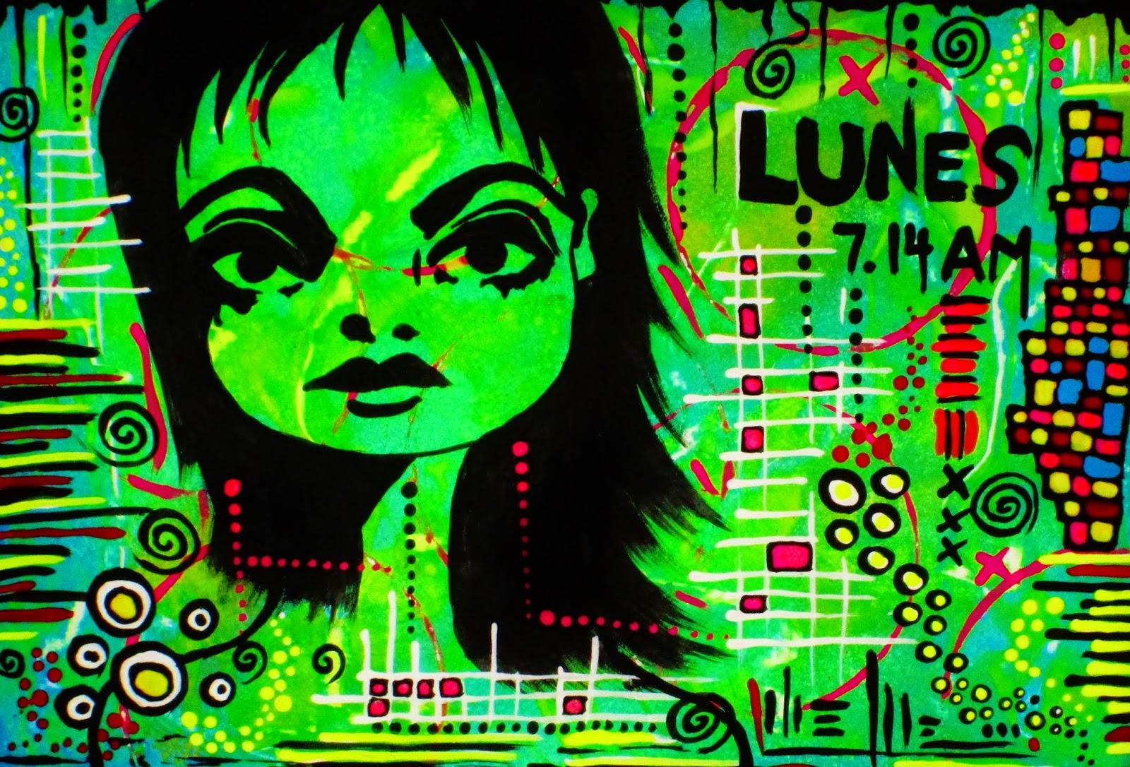 Lunes - Art by Bebee Pino