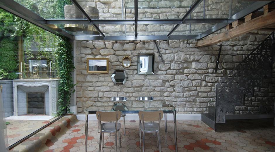 como les comentaba el vidrio se utiliz para cerrar las paredes tanto exteriores como interiores y por supuesto para el fabuloso pavimento de vidrio de