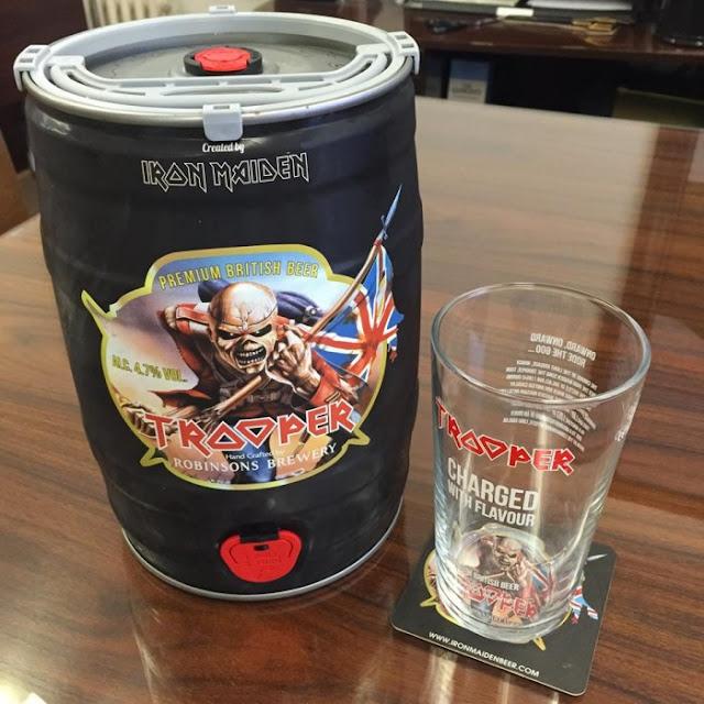 Cerveja Troper em barril de 5 litros