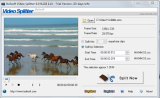 Boilsoft Video Splitter 7.01.1