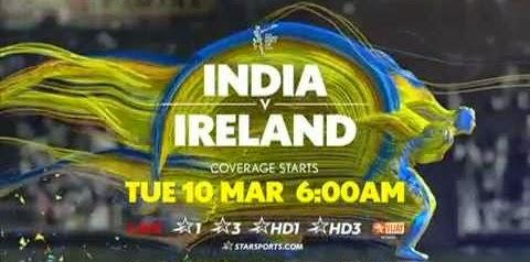 India vs Ireland Cricket World Cup 2015