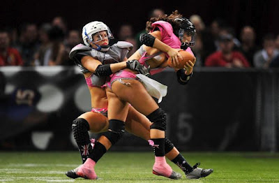 Google prudish about Lingerie Football League