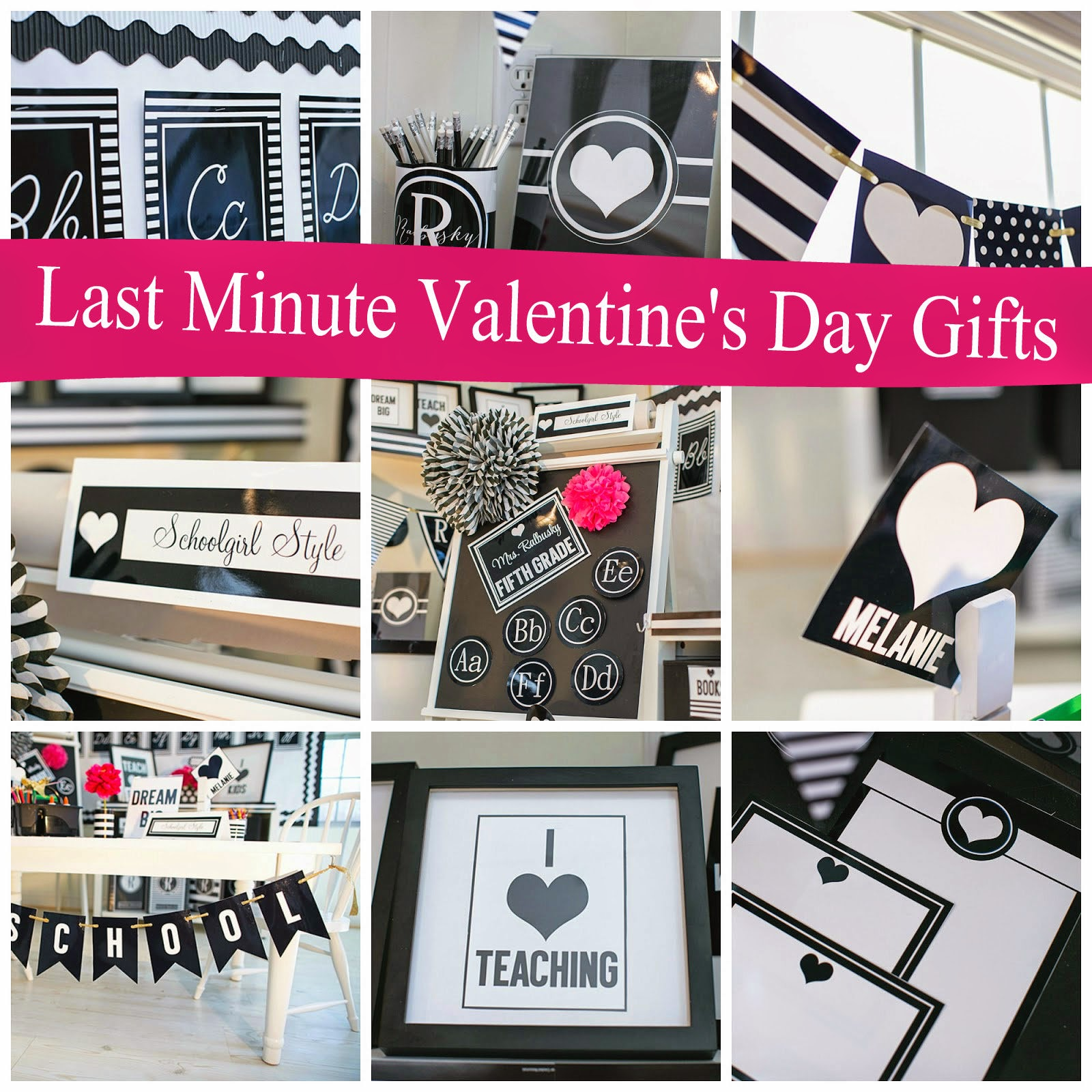 Last Minute Heart-Themed Valentine's Day Gift Ideas - Pieces of a Mom