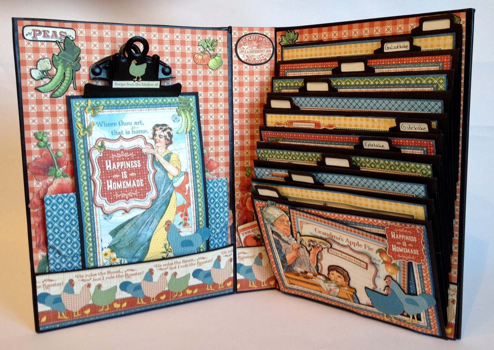 How to make scrapbook vintage - Have A Great Time Cooking In Your Kitchen