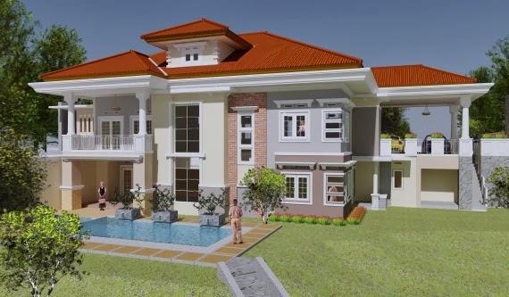 gambar rumah mewah terbaru