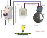 esquema electrico timbre