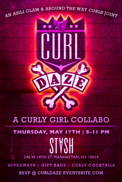 Curl Daze: A curly girl collabo! MY FIRST MEET-UP!