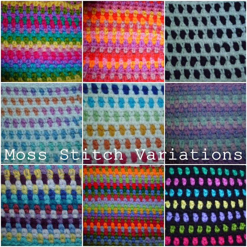 Knitting Seed Stitch Variations : The 8th Gem: MOSS STITCH AND ITS VARIATIONS