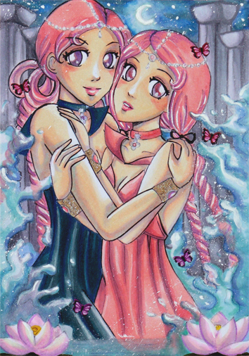 Sailor Lethe  amp  Sailor MnemosyneSailor Lethe And Sailor Mnemosyne