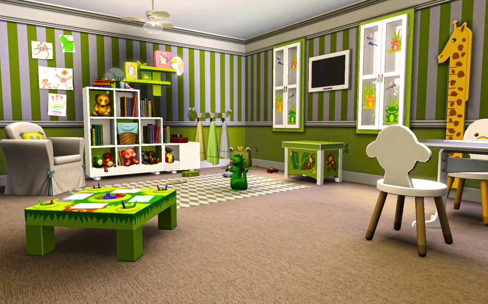 Beautiful wallpapers daycare dynamo by eva von asch Dacare room designs