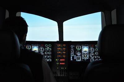 Saiba como se tornar um piloto comercial  Simulador+IFR