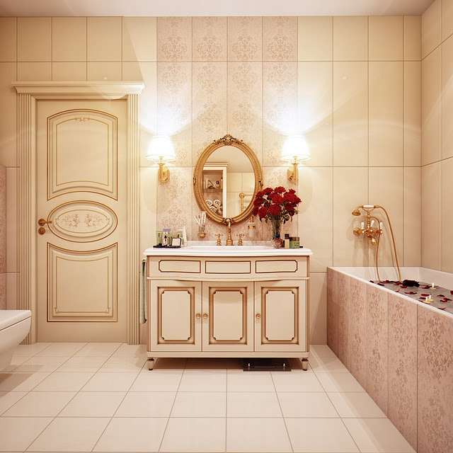 Baño Turco Arquitectura:Vintage Modern Bathroom