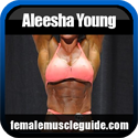 Aleesha Young Female Bodybuilder Thumbnail Image 3