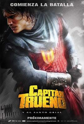 Uno de los carteles de El capitán Trueno
