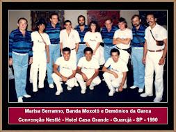 Marisa Serranno, Banda Moxotó e Demônios da Garoa