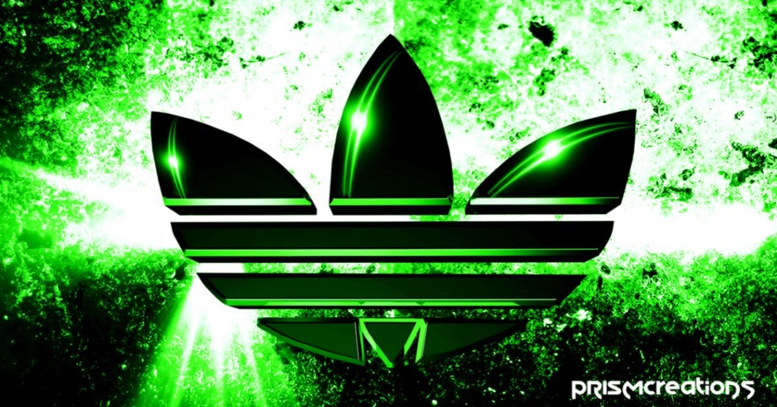 green adidas logo wallpapers hd high definitions wallpapers