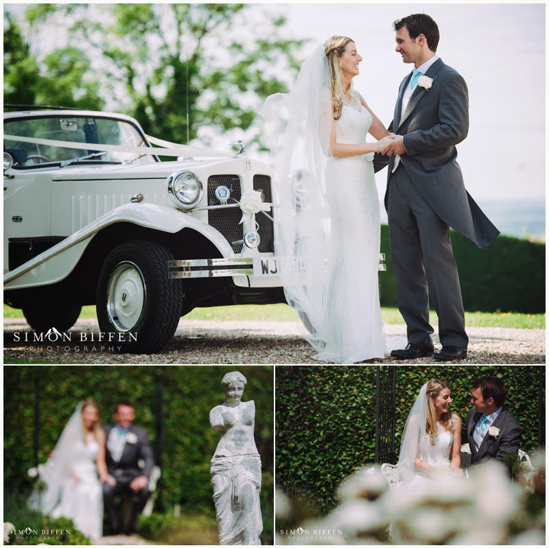 Bride and groom portraits wedding somerset