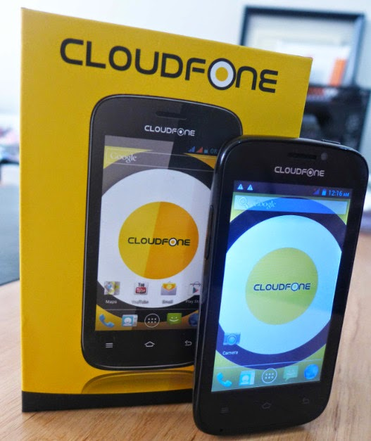 CloudFone Excite 400dx, CloudFone