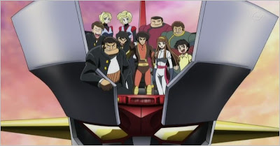 anime mecha robots manga