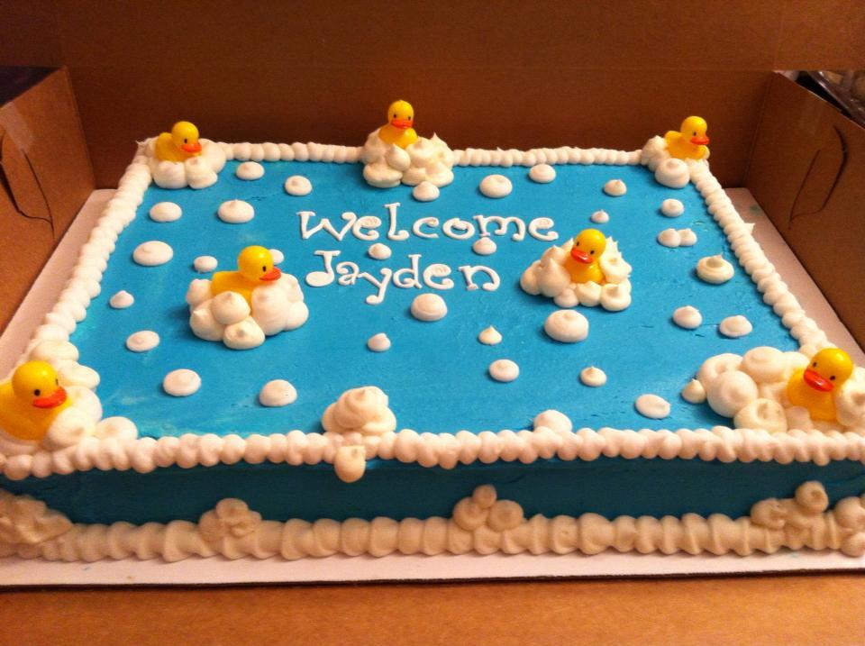 2 Girls 1 Cupcake Baby Shower Cake