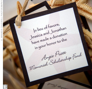 Ideas In Lieu Of Wedding Gifts : Sonal J. Shah Event Consultants, LLC: In Lieu of Favors