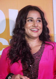 Actress Vidya Balan Pictures in Pink Short Dress at Shaadi Ke Side Movie Trailer Launch 0001.jpg
