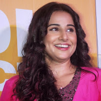 Voluptuous Vidya balan photos in pink short dress at shaadi ke side movie trailer launch