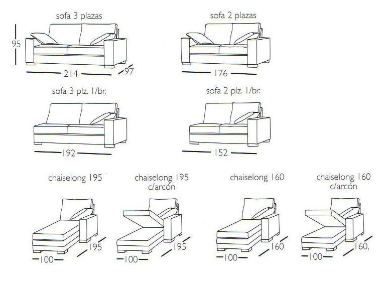 Au usp ana carolina ad o no para so 45 material e for Medidas sofa 3 plazas