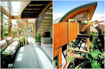 Homes in Australia-North Carlton Green House