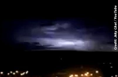 Did UFO Visit Bury?