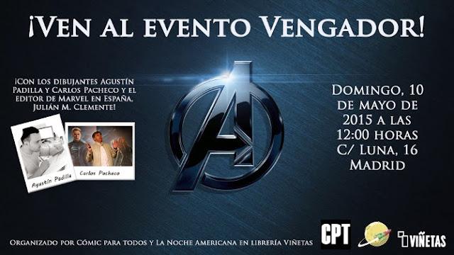 Evento Vengadores