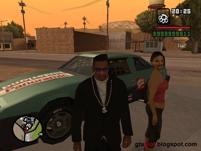 Pacar CJ Barbara Schternvart GTA San Andreas Girlfriends