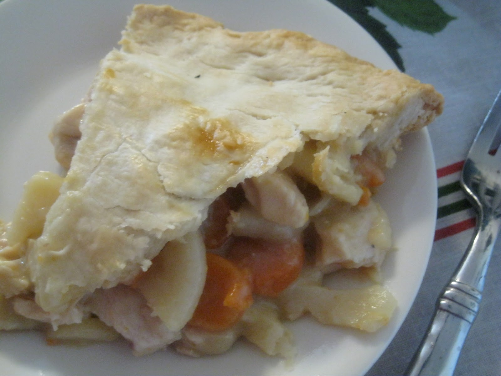 TIP GARDEN: Freezer Meals: Chicken Pot Pie