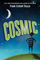 cosmic by frank cottrell boyce book cover