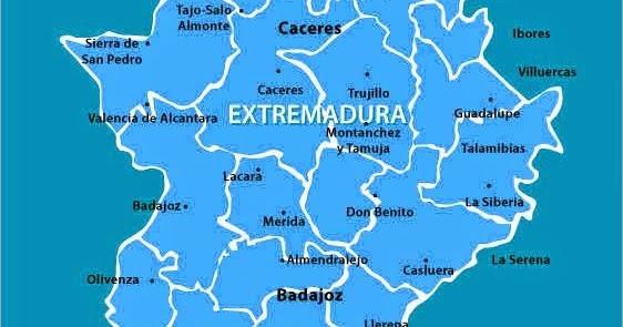 Worksheet. Extremadura Mapa Regin Poltica  Mapa Espana Poltico Regin