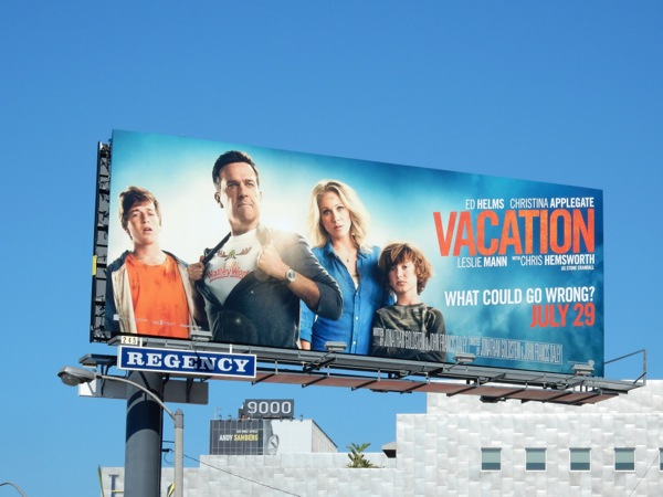 Vacation movie billboard