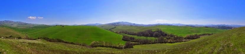 Springtime, Near Volterra, Tuscany, Italy