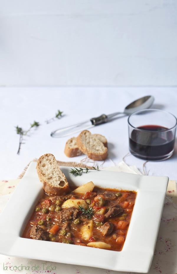 La cocina de tesa rag de ternera de la t a alia for Cocina tradicional definicion