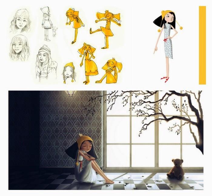 Qian Shi ilustraciones