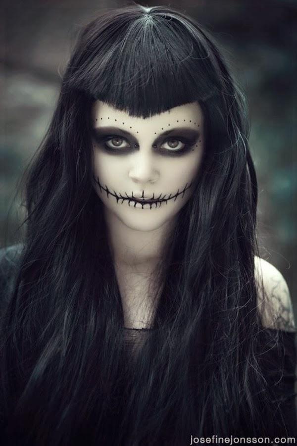 Misuki Tak: Maquillaje para halloween