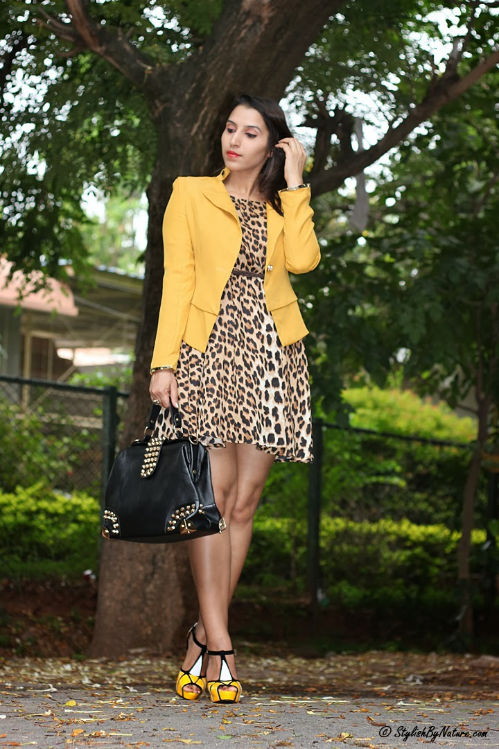 What to Wear with Leopard Print  Dress