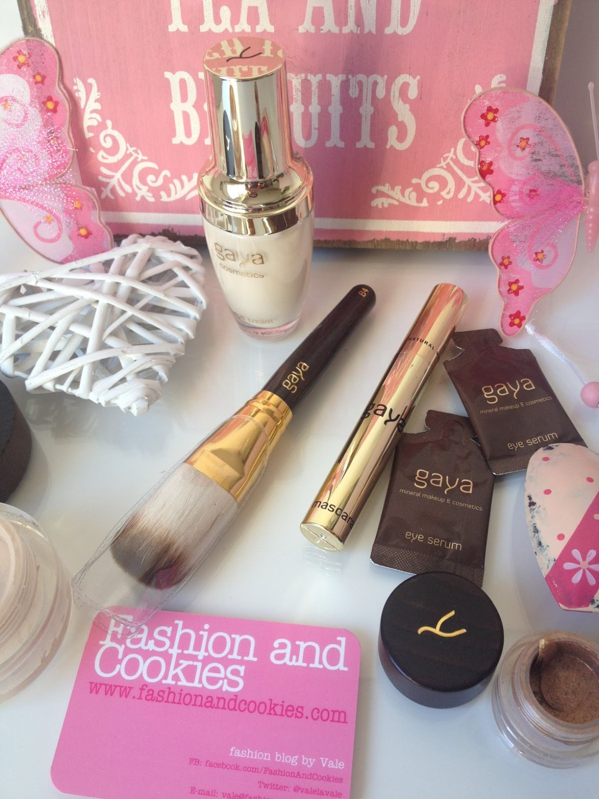 Gaya cosmetics review and haul on Fashion and Cookies beauty blog