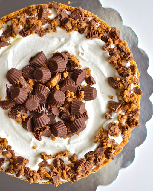 ... : Deep Dish Peanut Butter Pie with Chocolate Covered Pretzel Crust