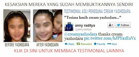 Testimoni Cream Yashodara