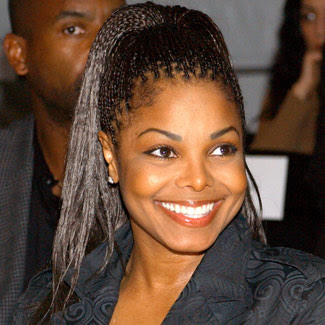 Janet Jackson Box Braids Hairstyles