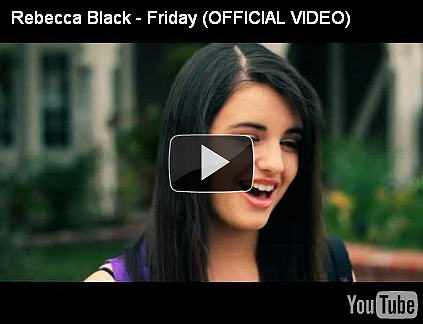 rebecca black youtube