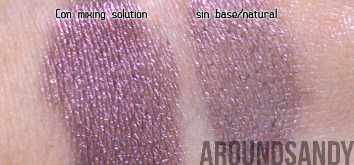 Dazzle Dust 89 Oyster Grey Barry M swatches swatch pigmento