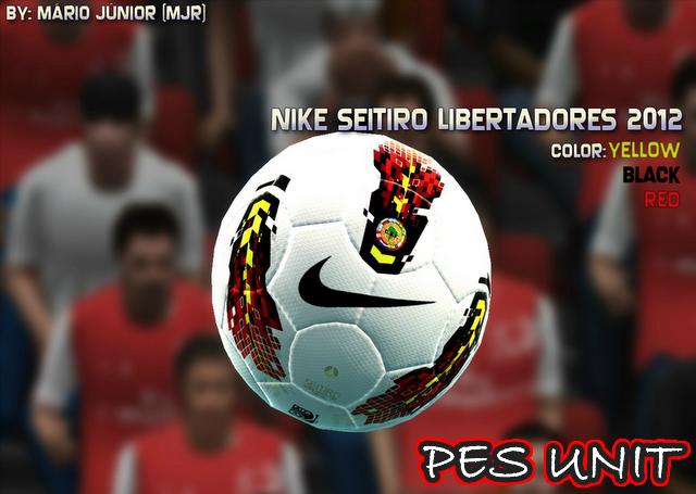PES 2012: Bola Da Nike Seitiro Libertadores 2012
